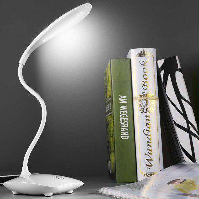 Creative LED Student Folding Small Table Lamp Touch USB Charging Light