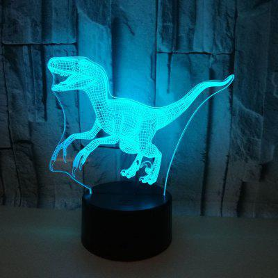 New Dinosaur 3D Light Colorful Touch LED Visual Light