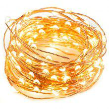 3A Battery Box 5 Meters LED Waterproof Copper Wire Decorative String Wedding Christmas Halloween Lantern