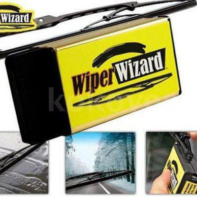 Ecocut Pro Wiper Wizard Car Cleaning Brush Scraping Car Window Blade Restorer Truck Windscreen Safety Driving Chiffons + 5 Microfiber Cloths (Color: Yellow  p008-p004215