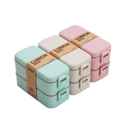 Japanese Tableware Microwave Student Multi-layer Lunch Box