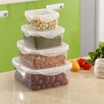 Sealed Crisper Square Storage Box