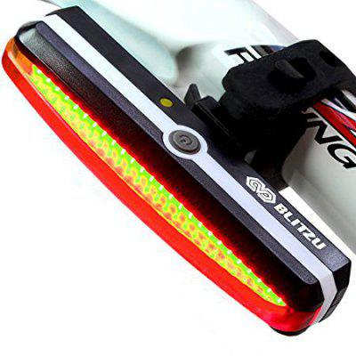 Bicycle Tail Light USB Charging COMET Tail Light Flashing Warning Light Mountain Bike Headlights