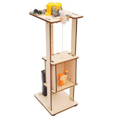 Elevator Lift Technology Small Production DIY Small Invention Small and Medium-sized Teaching Toy Laboratory Equipment