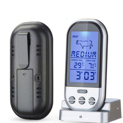 YK-110 Smart Wireless Remote Control Barbecue Thermometer Outdoor BBQ Portable Barbecue Electronic Thermometer