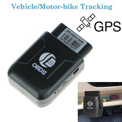 Best Selling OBDII Car GPS Real-time Tracker OBD2 GPS Car Locator Alarm TK206