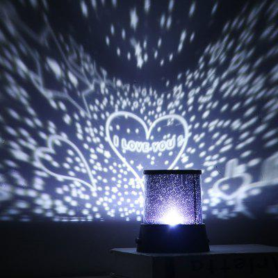LED Star Lights Star Sky LED Projection Lamp Romantic Night Light Star Projector Lamp