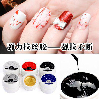 Nail Drawing Rubber Carving Flower Painting Nail Oil Glue Painting Pull Nail Polish Gelatin Gel DIY Light Therapy Pull Glue
