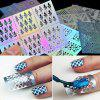 Hollow Nail Sticker Adhesive Paper Nail Print Template Hollow Stickers With Packaging Nail Sticker - JVL068