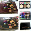 46 Color Eyeshadow + 2 Color Blush + 3 Color Concealer + 3 Color Powder Mixed Combination Makeup Tray Push-pull Eye Shadow Concealer - 2 KINDS OF PACKAGING ARE RANDOMLY DISTRIBUTED