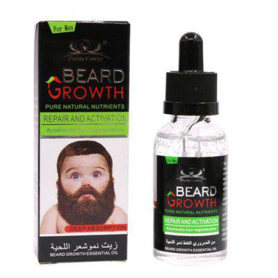 40ml Beard Growth Fluid Hair  Mustache Beard Growth Essential Oil