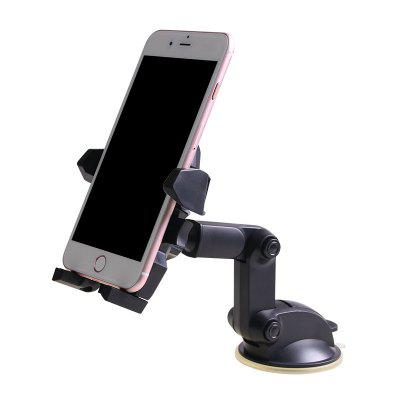 Car Phone Holder Telescopic Arm Suction Cup Bracket Mobile Phone Holder Navigation Bracket SD-1124