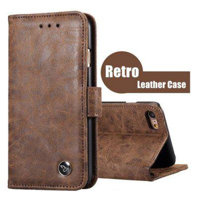 New Design Luxury Leather Magnetic Flip Window Shockproof  Wallet Case Cover With Card Slot Stand Support Holder for iPhone X 8 8Plus 7 7 Plus 6 Plus 6s Plus 6 6s 5 5s se for Samsung Galaxy S8 S8Plus