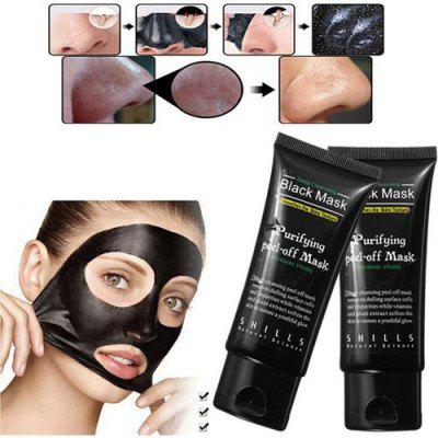 Women\'s Fashion Makeup Shills Peel-off Face Masks Deep Cleansing Black MASK Blackhead Facial Mask