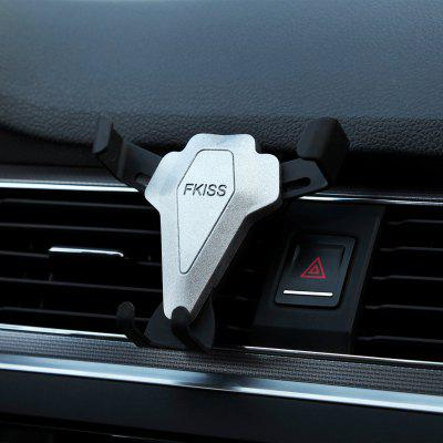 Car Air Outlet Car Bracket Bracket Triangle Gravity Mobile Phone Buckle Type Stable Air Outlet Car Bracket