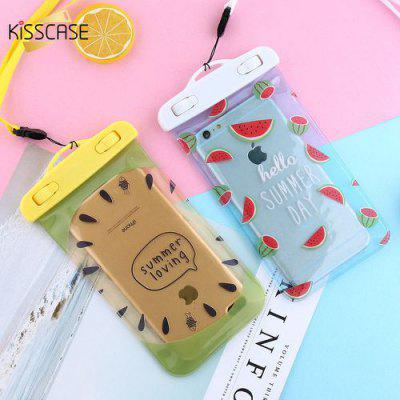 Waterproof Case For iPhone 6 6S 7 8 Plus Fruit Patterned Waterproof Bag For iPhone 5 5S SE X 10 Waterproof Pouch Cases