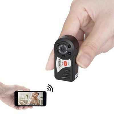 Mini przenośna kamera IP P2P WiFi Wewnętrzna / zewnętrzna nagrywarka wideo HD DV Security dla iPhone / Android Phone / iPad / PC Remote View
