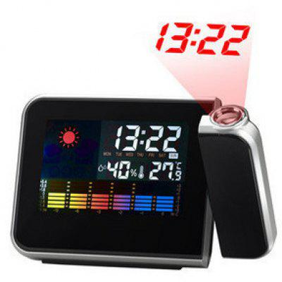 Weather Clock Forecast Projection Clock LED Electronic Clock