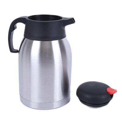 Stainless Steel Flat Head Pot Household Vacuum Flask Vacuum Insulation Pot Insulation Hotel Pot Kettle