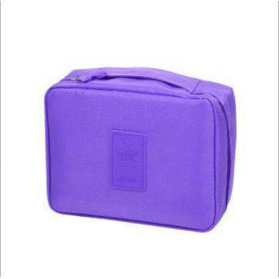 Large Capacity Simple Wash Cosmetic Bag Storage Finishing Package Multi-function Travel Square Package