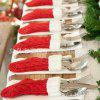 New Christmas Decoration Christmas Tree Socks Christmas Tree Pendant Christmas Cutlery Set Christmas Knitted Socks - KNITTED CHRISTMAS STOCKINGS