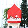 Christmas New Table Decoration Non-woven Chair Cover Cartoon Old Man Snowman Stool Set Christmas Hat - CHRISTMAS NEW CHAIR COVER