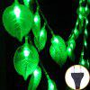 LED Leaf Light String Outdoor Anti-watercolor Lamp Garden Decoration String Lights Star Light - GREEN