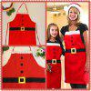 Hot Christmas Decorations Christmas Thin Section Home Apron Christmas Day Family Party Supplies - CHRISTMAS APRON ADULT