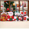 Christmas Decorations Christmas Table Decoration Christmas Cutlery Set Santa Snowman Knife Set - COUTEAU DE CERF