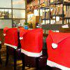 Christmas Decorations Hot Sale Woolen Chair Set Hotel Restaurant Creative Layout Props - CUBIERTA DE LA SILLA