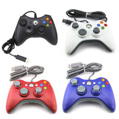 XBOX 360 Shape USB Computer Wired Controller PC Computer Game Controller USB Wired Controller for PSP