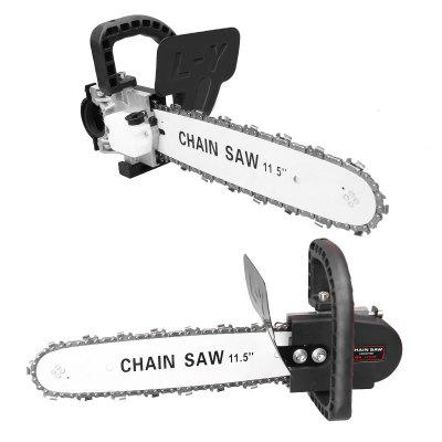 Multi-function Household Woodworking Chainsaw Angle Grinder Modified Electric Chain Saw Accessories Bracket