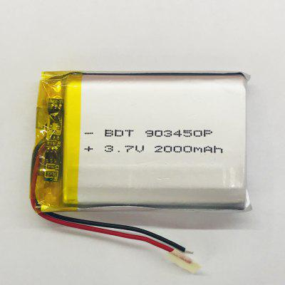 903450 Polymer Lithium Battery 2000mah Electric Massager Portable Lighting Battery