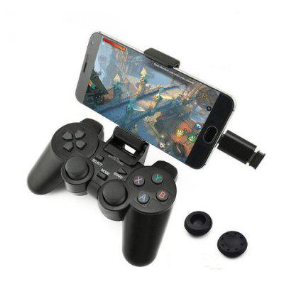 Android Wireless Gamepad Joystick 2.4G Joypad Game Controller for Android Phone / PC / PS3 / TV Box