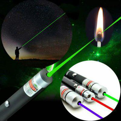 High Power Red Purple Green Laser 650nm 5mW Pen Visible Beam Light