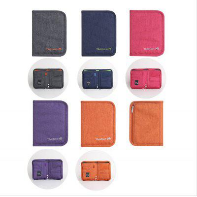 WEEKEIGHT Travel Passport Holder Paquete de documentos multifunción Passport Package Funda protectora Bolsa de documentos Bolsa impermeable para boletos