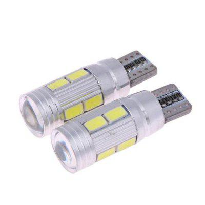 LED light T10 canbus 10SMD W5W car white 5W charging 194