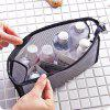 Travel Portable Wash Bag Waterproof Cosmetic Bag Storage Bag Supplies - BLACK