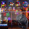 LED Snowflake Effect Lights Outdoor Christmas Light Projector Garden Holiday Xmas Tree Decoration Landscape Lighting - AS IMAGE