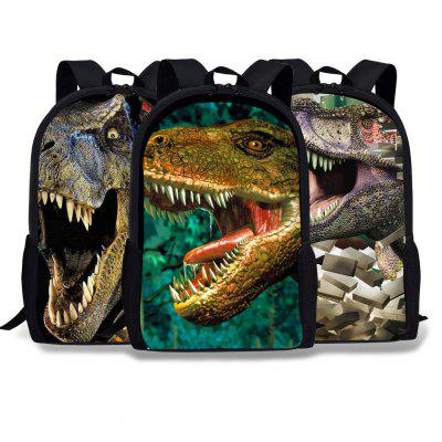 Cartoon School Bag Schoolboy Animal Bag Cool Dinosaur Backpack To Map Backpack School