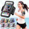 Sports Running Mobile Phone Sports Arm Bag - SILVER