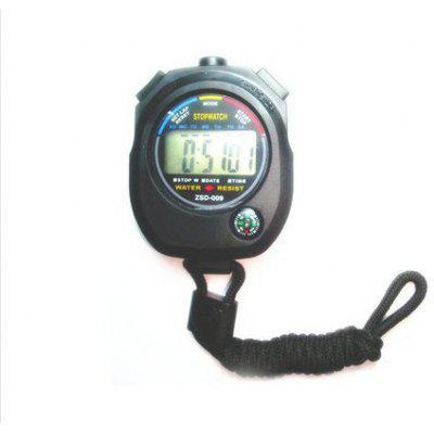 Stopwatch ZSD-009 Horse Racing Track And Field Sports Strap Compass Multifunction Electronic Timer Waterproof