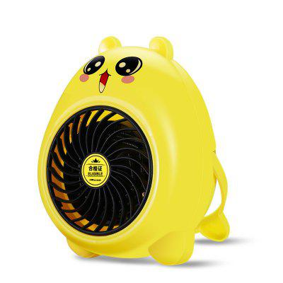 JY - 01 Cartoon Heater Desktop Mini Heater Home Dormitory Small Electric Heater Fan Mini Heater