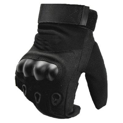 Outdoor Riding Full Finger Gloves Non-slip Training Cut-proof Wear-resistant Mountaineering Fighting Protective Fitness Gloves