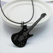Gearbest price history to Fashion Music Guitar Necklace Men's Item Sweater Chain Can Be Laser Engraved