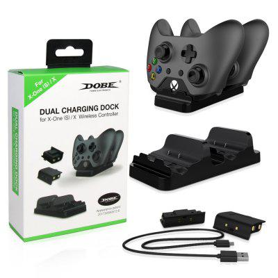 Game Controller Dual Battery Dual Charge Set Xbox one Handle Double Charger + Battery TYX-532
