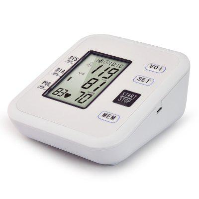 Home Arm Electronic Blood Pressure Monitor English Blood Pressure Meter Blood Pressure Meter Gift