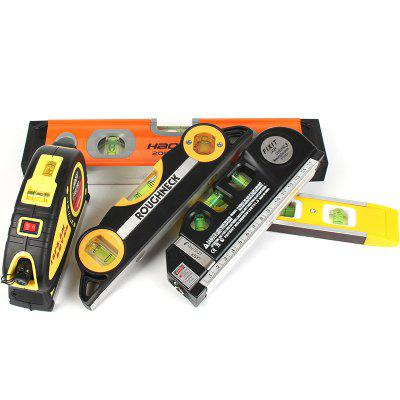 2 Line Horizontal Level Magnetic 4 in 1 Level