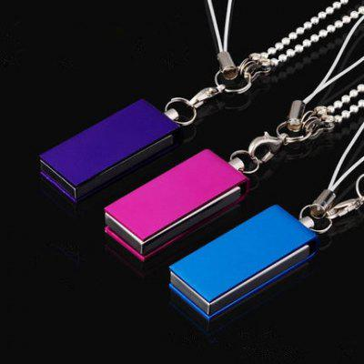 Metal que gira U disco 4G 8G 16G 32G regalo impermeable USB Flash Drive