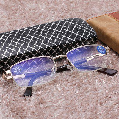 Fashion High-end Anti-blue Lens Unisex Goggles Reading Glasses